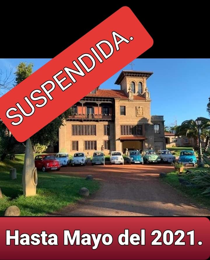Suspendida VIII Concentración Nacional de Seat 600 de Cantabria 2020